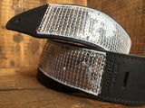 Silver Glovely Sequined Guitar Strap // PRE-ORDER