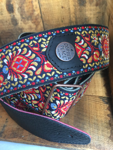 Night Gypsy Guitar Strap