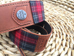 Seattle Plaid Banjo Strap // Limited Edition