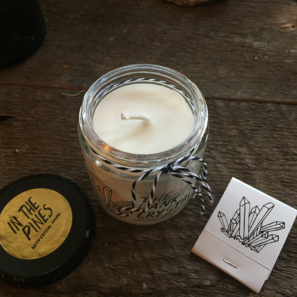 Dank Crystal 'In the Pines' Candle