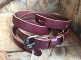 Oldstyle Guitar Strap - Saddle Brown