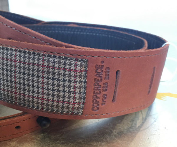 Houndstooth Homerun Banjo Strap // Limited Edition