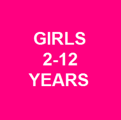 Girls 2-12 years