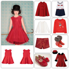 Girls Christmas Clothing