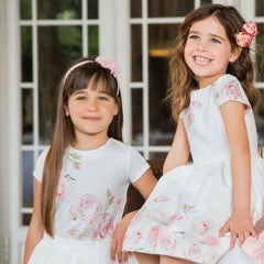 The gorgeous new Patachou Summer 2018 collection brings us some of the most pretty dresses, tops and skirts for girls and cute tops and dungaree sets for the boys