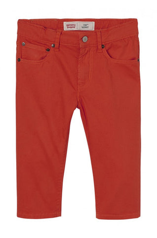 Levi's Boys Red Bermuda Shorts - Last age 12 -  Spoiled Rotten Childrenswear