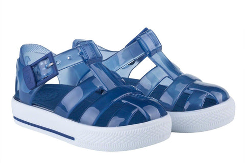 Igor Jellies - Navy 'Tenis' Jelly Sandals -  Spoiled Rotten Childrenswear