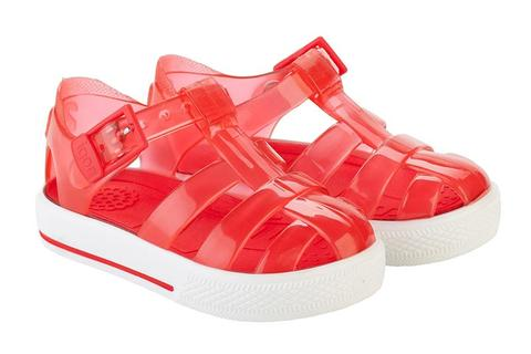 Igor Jellies - Red 'Tenis' Jelly Sandals -  Spoiled Rotten Childrenswear
