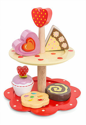 Le Toy Van 2 Tier Cake Stand Set -  Spoiled Rotten Childrenswear
