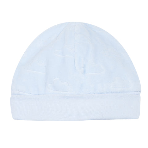 Absorba Baby Boys Blue Velour Cloud Hat -  Spoiled Rotten Childrenswear