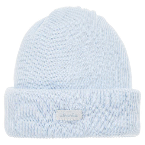 Absorba Blue Cotton Ribbed Hat -  Spoiled Rotten Childrenswear