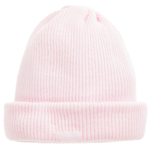 Absorba Pink Cotton Ribbed Hat -  Spoiled Rotten Childrenswear