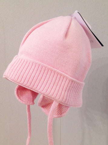 Maximo Baby Pink Wool Hat -  Spoiled Rotten Childrenswear