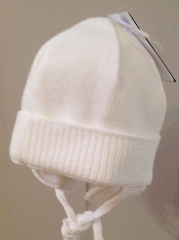 Maximo Baby White Wool Hat -  Spoiled Rotten Childrenswear