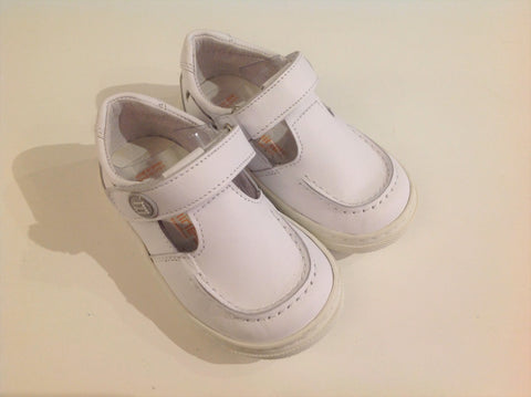 Andanines Boys White Leather Sandals - Last EU 20 -  Spoiled Rotten Childrenswear