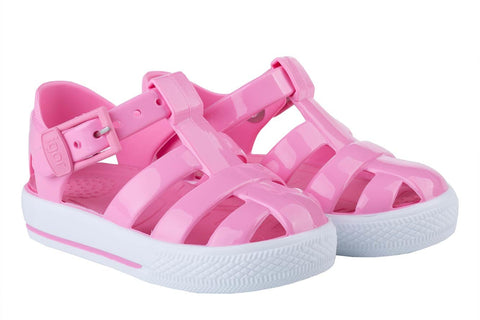 Igor Jellies - Pink 'Tenis Solid' Jelly Sandals -  Spoiled Rotten Childrenswear