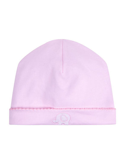 Kissy Kissy Girls 'Pique Elephant' Pink Hat - Last 6-9 months -  Spoiled Rotten Childrenswear