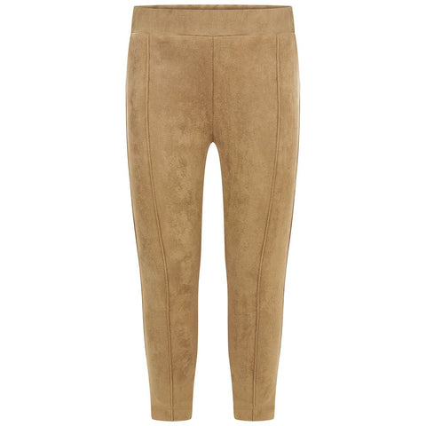 Patachou Girls Brown Suede Effect Trousers