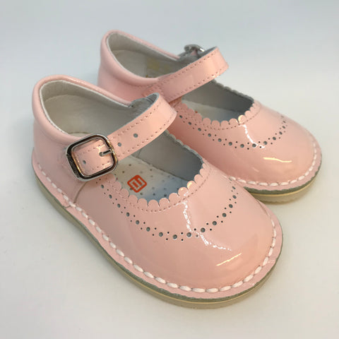 Andanines Girls Pink Patent Shoes -  Spoiled Rotten Childrenswear