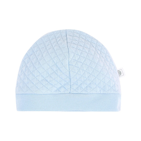 Absorba Baby Boy Blue Cotton Quilted Hat -  Spoiled Rotten Childrenswear