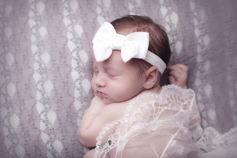 Cute Cute Double Bow Headband -  Spoiled Rotten Childrenswear