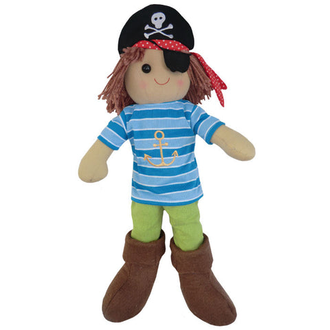 Powell Craft Pirate Rag Doll -  Spoiled Rotten Childrenswear