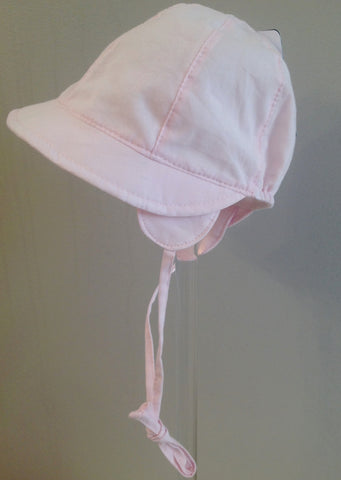 Maximo Girls Pink Capped Bonnet
