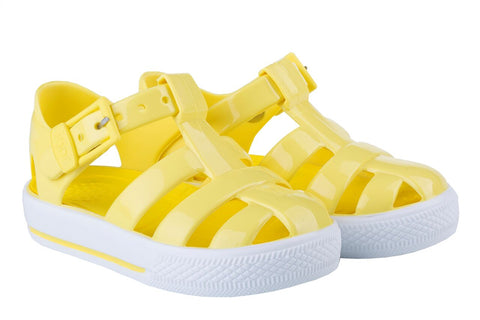 Igor Jellies - Yellow 'Tenis Solid' Jelly Sandals -  Spoiled Rotten Childrenswear