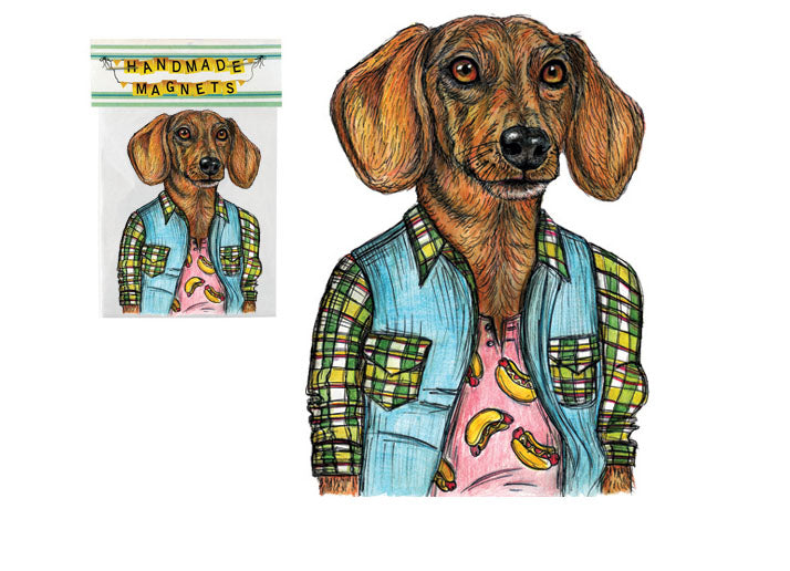Wiener Dog Magnet