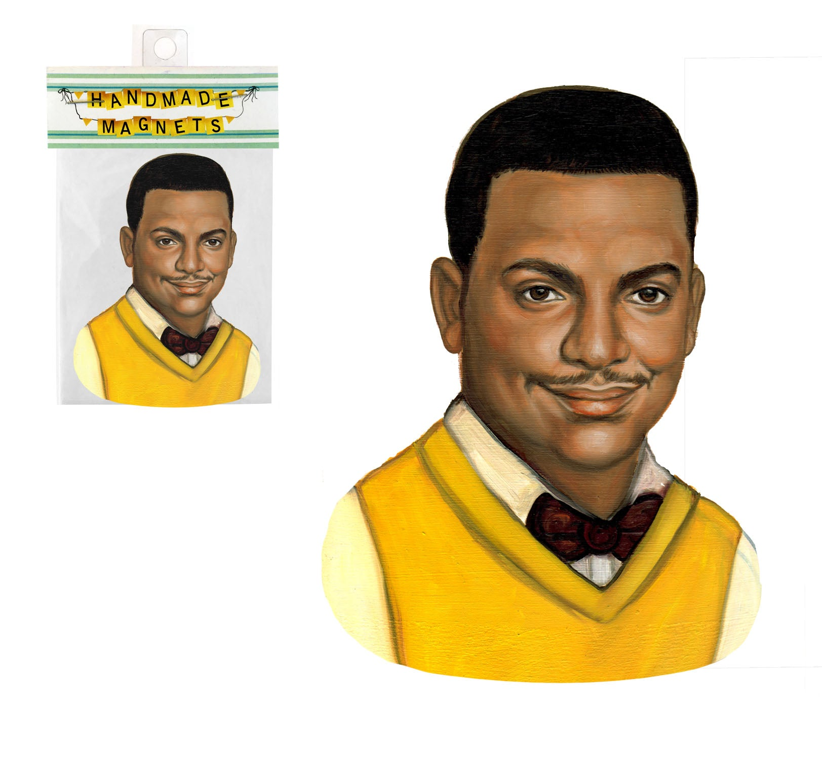 Carlton Banks - Fresh Prince Magnet