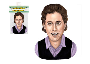 Jerry Seinfeld Magnet