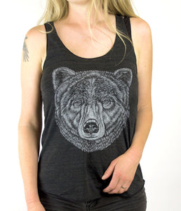 Bear Ladies Tank Top