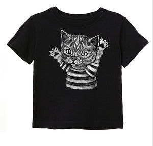 Kitten Toddler & Kids Tee