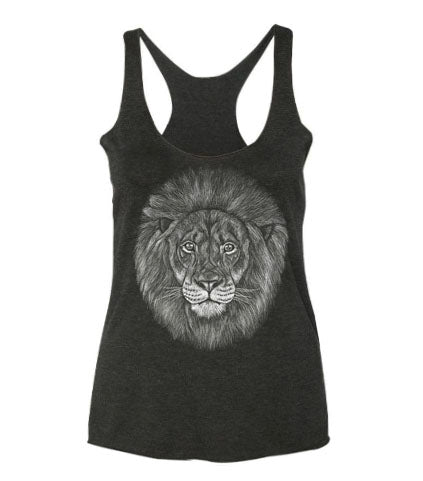 Lion Ladies Tank Top