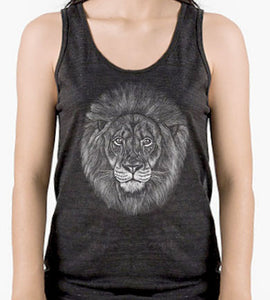 Lion Unisex TriBlend Tank Top