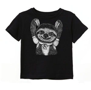 Sloth Toddler & Kids Tee