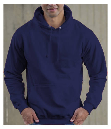 Medium Oxford Navy Hoodie - choose logo