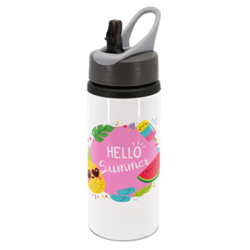 Personalised Water Bottle (UPLOAD YOUR IMAGE/QUOTE)
