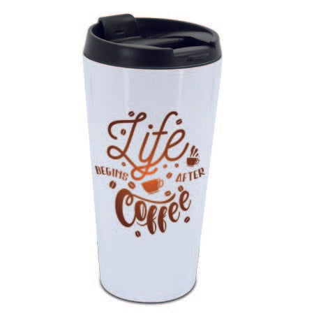 Personalised Travel Mug (UPLOAD YOUR OWN IMAGE/QUOTE)