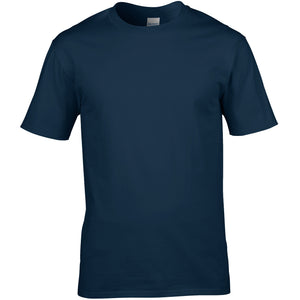 Medium Navy Cotton T shirt - choose logo