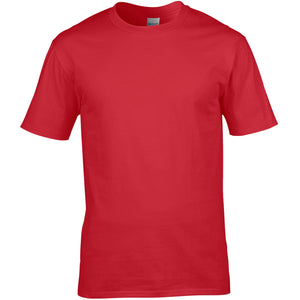 Red Cotton T Shirt - choose logo