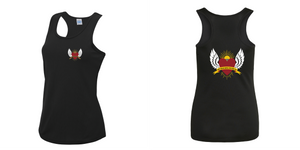 Ladies Black Sports Vest