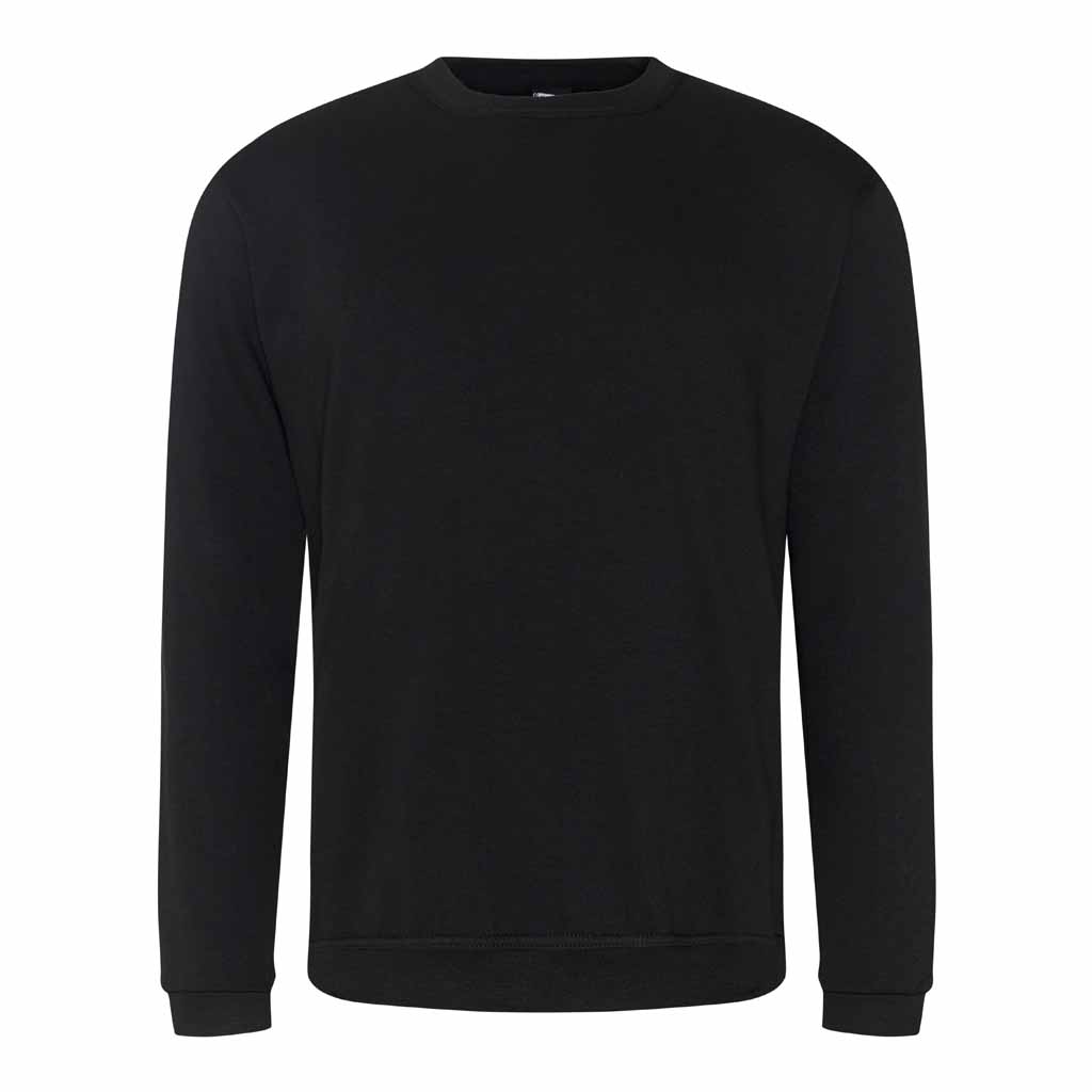 Large Black Sweatshirt - choose logo