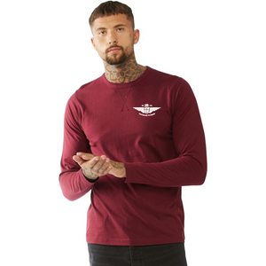 Medium Burgundy Longsleeve Top
