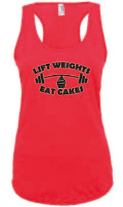 Lift Weights Eat Cakes Vest