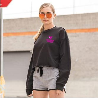 Ladies Crop Jumper