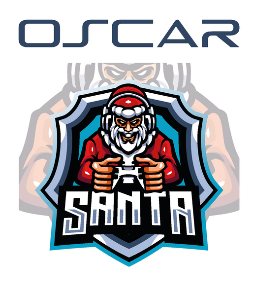 Personalised Gaming Santa