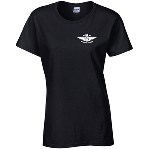 Small Ladies Black T Shirt