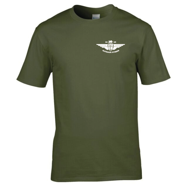 Medium Military Green T Shirt