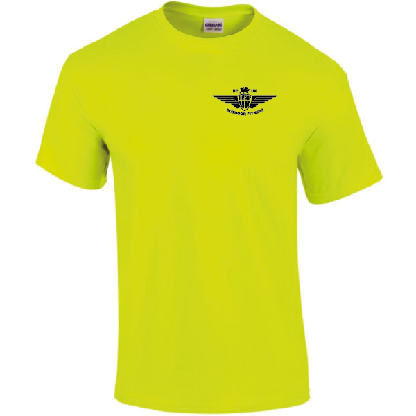 Large Electric Yellow T Shirt